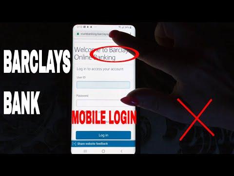 ✅  Barclays Mobile Bank Register Login Find Password 🔴