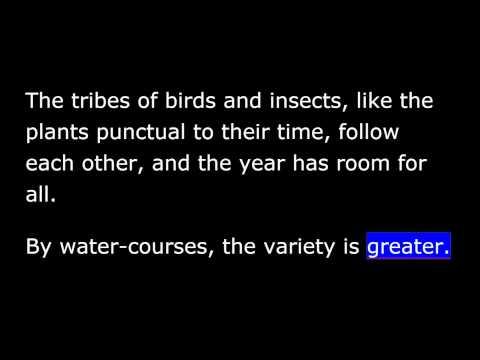 Beauty - Ralph Waldo Emerson