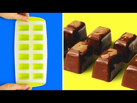 23 EASY AND COOL CHOCOLATE HACKS