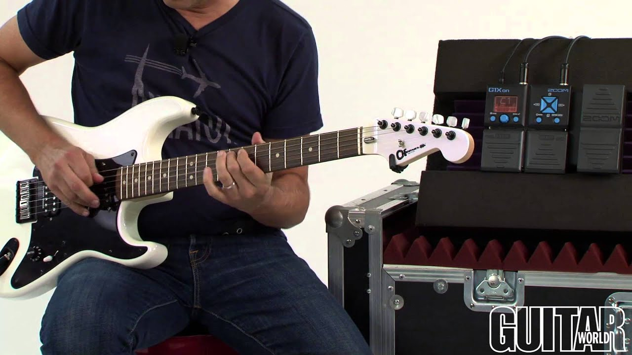 zoom g1xon guitar multi effects processor youtube. Black Bedroom Furniture Sets. Home Design Ideas