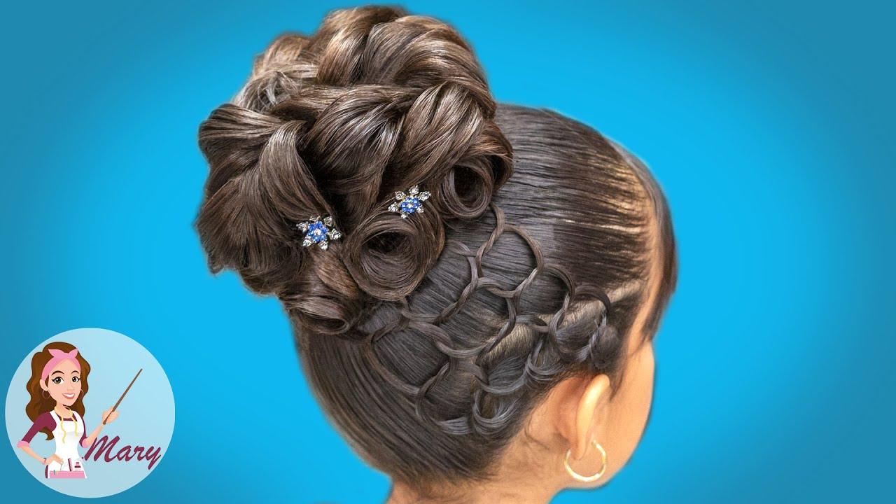 Videos de peinados para primera comunion faciles