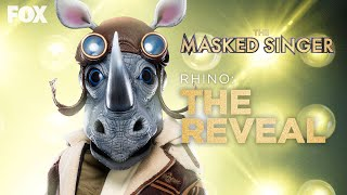 The Rhino Is Revealed As Barry Zito | Season 3 Ep. 16 | THE MASKED SINGER