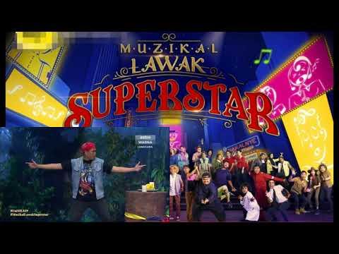 Muzikal Lawak Superstar Minggu 3 (Uni)