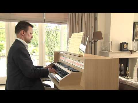 Psalm 138 on the new Johannus Studio 150, played by André van Vliet