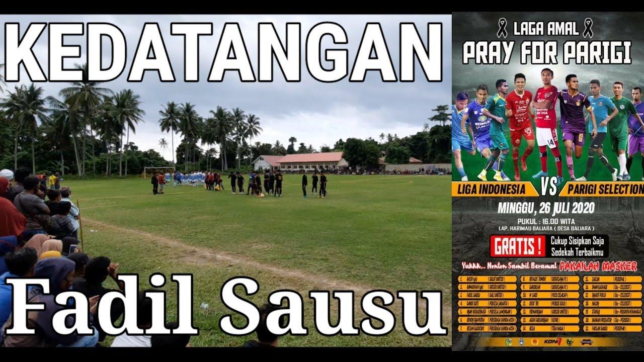 HUJAN DERAS !!! Laga Amal : Liga Indonesia VS Parigi Selection - Parigi Moutong