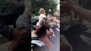 bayi 3bulan tidak mau ditinggal ayah