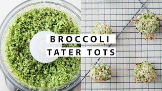 Broccoli Tater Tots - Healthy School Lunch Idea & Side Dish