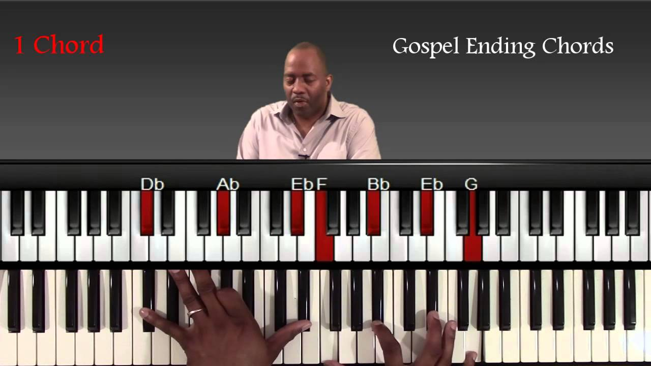 Gospel piano ending chords and progressions youtube gospel piano ending chords and progressions hexwebz Gallery