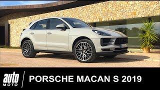 2019 Porsche Macan S ESSAI POV Auto-Moto.com