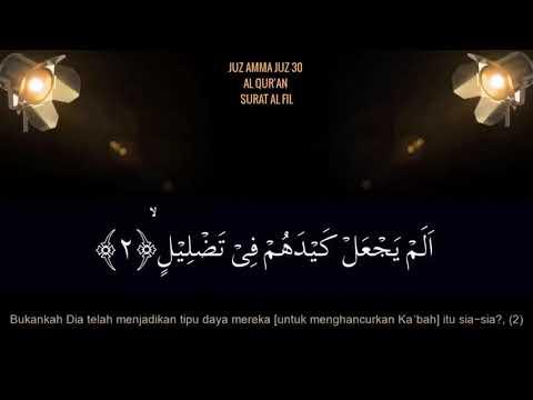 murottal-surat-pendek-juz-amma-al-quran-surah-al-fil-juz-30-ust-hanan-attaki