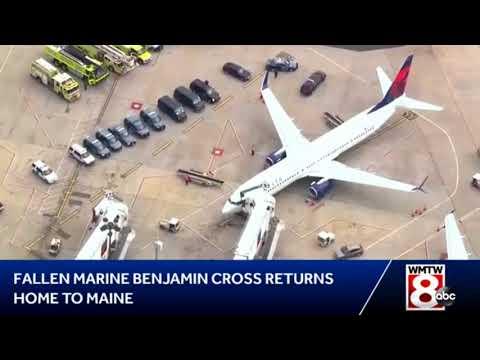 Capt Benjamin R. Cross Returns Home
