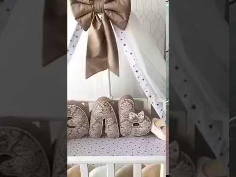 Балдахин и комплект в кроватку для новорожденного от More38.ru