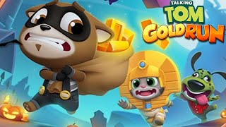 Talking Tom Gold Run China World Update - All Characters TALKING TOM & TALKING ANGELA