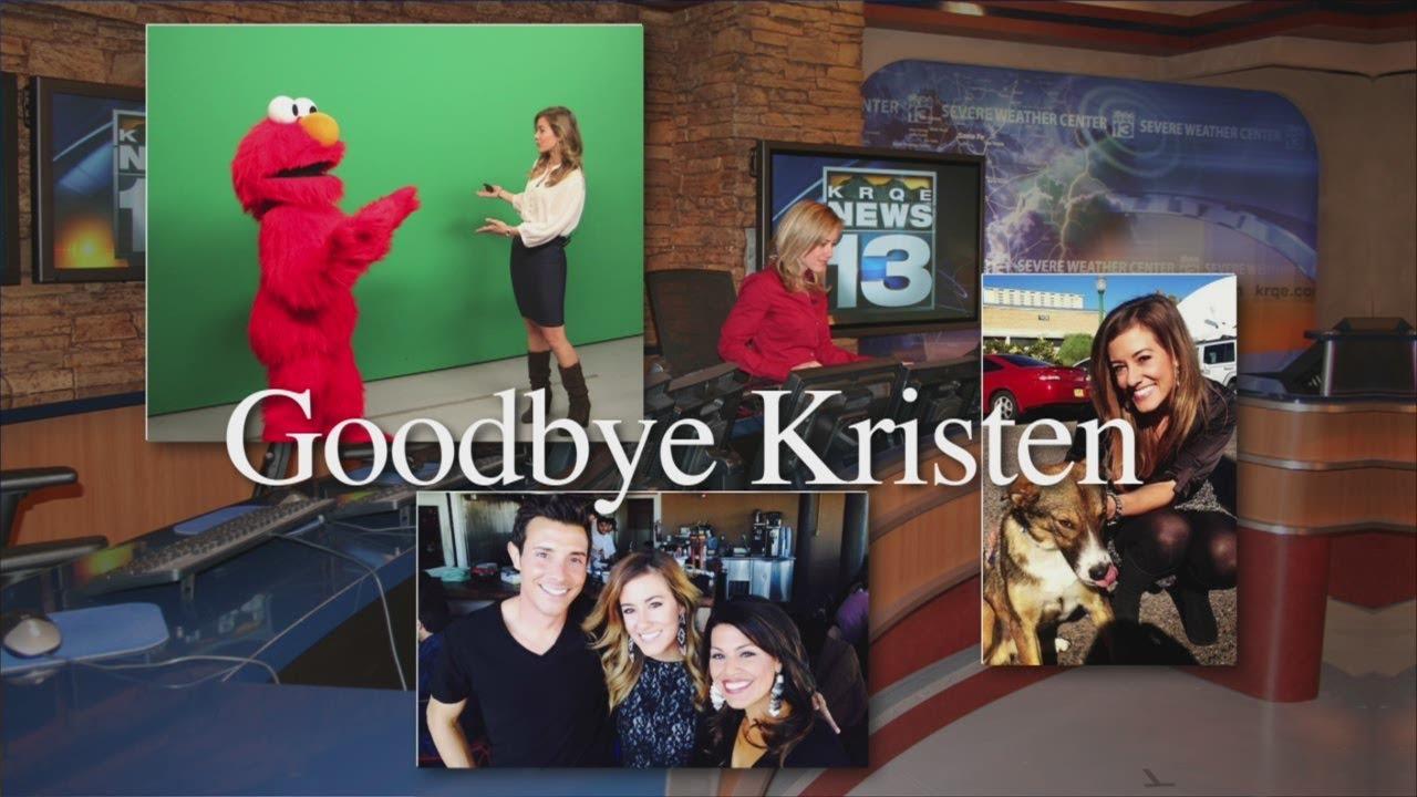 Kristen Van Dyke says goodbye by KRQE