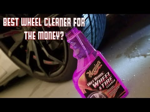 In The Details:  Meguiar's Hot Rims Wheel & Tire Cleaner