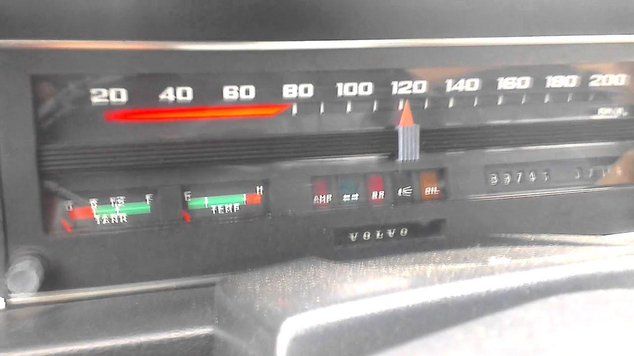 Volvo 144 DL b20 0-100 - YouTube