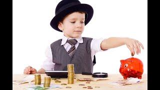 Воспитание ребенка. Обучение финансам