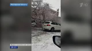 Юг России и Поволжье заметает снегом   аварии, закрытые трассы, задержки в аэропортах