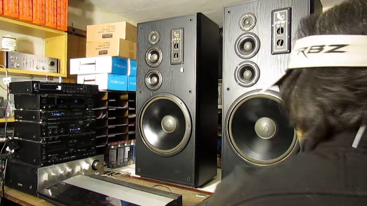 Infinity Sm 155 Studio Monitors Speakers 15 Quot Woofers 10