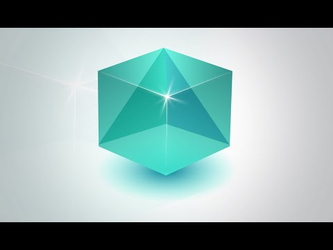 Illustrator CC Tutorial | How To Make Transparent 3D Logo