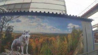 Любой рисунок на вашем заборе. Профнастил с цветным изображением. Фотомонтаж на профнастиле.(, 2016-03-23T17:24:15.000Z)