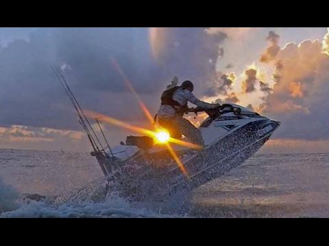 Jet Ski Fishing setup! Custom Fishing Box and Future Additions!