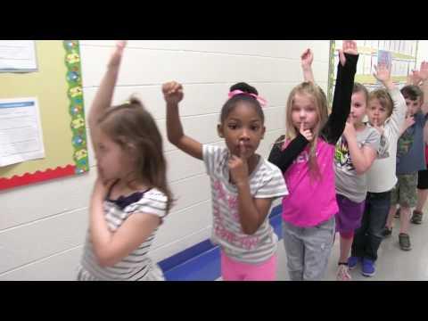 Mount Vernon Elementary School Mannequin Challenge - Yorktown, VA