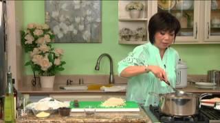 BẾP NHÀ TA NẤU: Soup gà nấu nấm