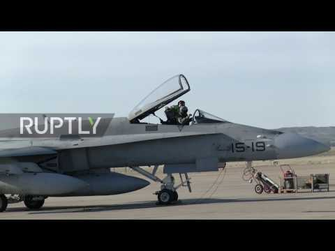 Spain: Fighter jets leave Zaragoza to join Baltic States patrol mission