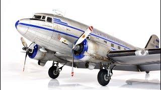 Douglas DC-3 trumpeter 1/48 Alaska Airlines - Aircraft Model