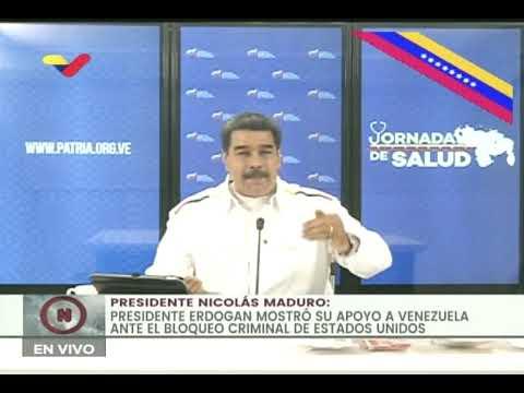 Maduro sobre el retorno al aire de Directv en Venezuela (compra por Scale Capital)