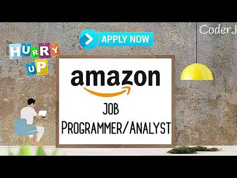 Amazon Job Opportunity | Programmer/Analyst | CoderJ