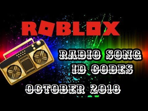 Roblox Song ID Codes - October 2018