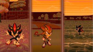 Gambar cover Sonic Robo Blast 2 v2.2 - Sunset Sakura (Act 1) (ft. Shadow)