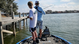 "Giant Swimbaits - The 14yr old ""Swimbait Kid"" shows me something very Special! Bass Fishing on LBJ"