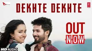 Kya se Kya Ho Gaye Dekhte Dekhte | Shahid Kapoor | Full Audio Released | Atif Aslam