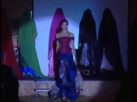 """1-2 Virgin Love Fashion show - Zaki Ben Oboud - """"Il Sole D'oro"""""""