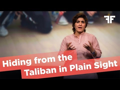 MARIA TOORPAKAI WAZIR | HIDING FROM THE TALIBAN IN PLAIN SIGHT | 2017
