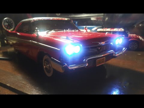 1958 Plymouth Fury CHRISTINE Diecast 1:18 By Auto World