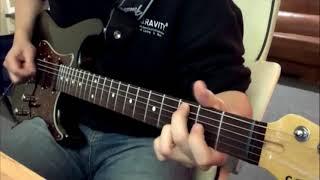 유명해지고싶은 기타리스트의 광기 연주