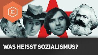Was heißt Sozialismus - Sozialistisch einfach erklärt ● Gehe auf SIMPLECLUB.DE/GO