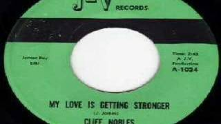 Clif Nobles - My Love Is Getting Stronger