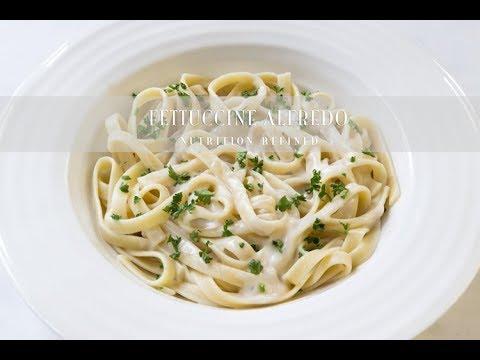 Fettuccine Alfredo | Vegan, Gluten-Free
