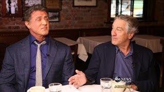 Robert De Niro, Sylvester Stallone on Making