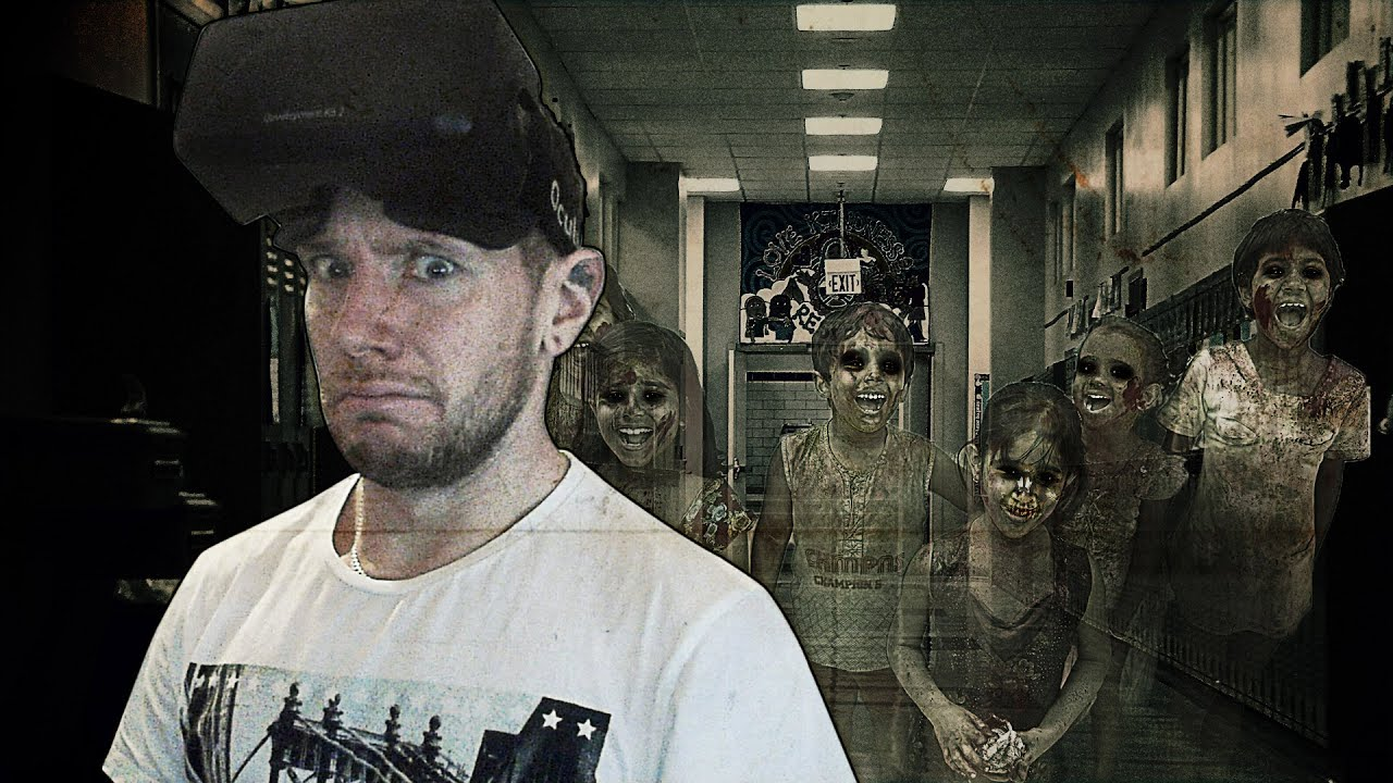 Walk Through A Haunted School In Virtual Reality
