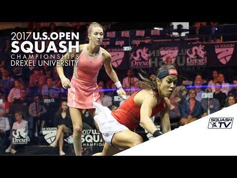 Squash: Round 1 Roundup Pt. 1 - U.S. Open Squash 2017 Presented by MacQuarie Investment Management