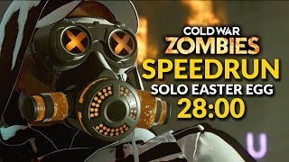 Mauer Der Toten Solo Easter Egg Speedrun - 28:00