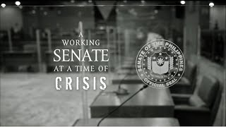 A Working Senate at a Time of Crisis