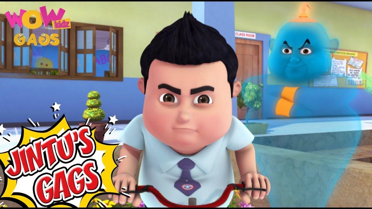 Download Vir The Robot Boy In Hindi | Jintu's Gags - 01 | Cartoons for Kids | Wow Kidz Gags