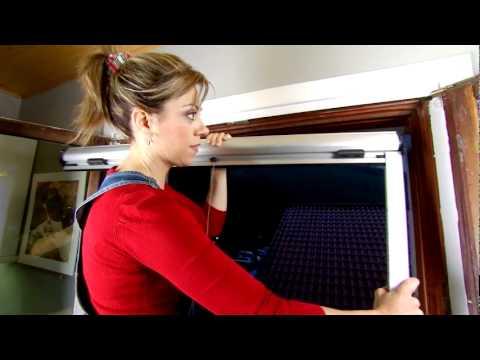 Como instalar mosquiteras enrollables Cortinadecor  YouTube